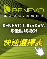KVM多電腦切換器快選表