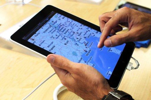 iPad進機艙 為機師導航