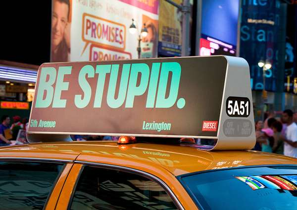 紐約計程車車頂燈箱廣告服務