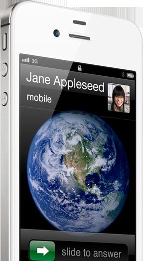 iPhone 4S 是首款智慧型切換雙天線發射與接收訊號的手機,所以通話品質格外良好。它還將最大 HSDPA 數據傳輸速度倍增至 14.4 Mbps7。這意味著更快速的連線、更快速的載入更新,與更快速的下載