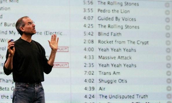 2003年,蘋果開放線上音樂商店iTunes。