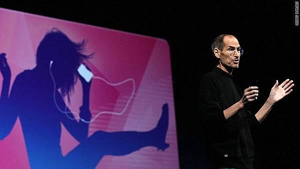 賈伯斯在WWDC(全球開發者大會)上宣布了蘋果將推出雲端音樂服務iTunes Match的消息