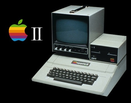 The Apple II made a brief visual appearance, though earned no actual mention, in last week's episode of the Escapist News Network, a satirical weekly news report of the electronic entertainment industry. Appearing at time index 2:25 – 2:35, the image a