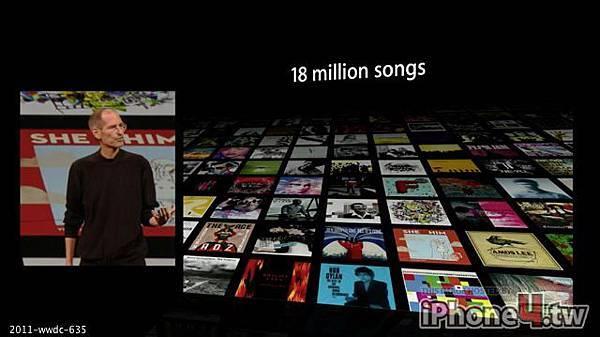 使用者透過iTunes購買數百萬首歌曲與專輯,並將曲目下載到iPod或iPhone。