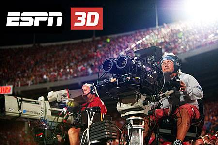 "The satellite dish channel said today it has cleared a spot for ESPN3D on its 3D channel lineup.ESPN 3D is supposed to have about 85 live sporting events a year -- think X Games, the 2011 BCS title game and this fall's ACC title game, but it starts with 25 World Cup games, launched on June 11 with South Africa-Mexico. ""And we tried to get people to watch soccer (years ago) ... and that didn't work,"" says David Letterman in the clip above. Watch and learn, while going after that dangling carrott that ESPN offers in 3D."