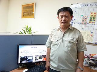 輔大資訊中心主任林宏彥。記者黃佳涵/攝影