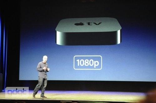 發表新的Apple TV線上盒,支援Full HD 1080P,99塊美金,今天開放預購