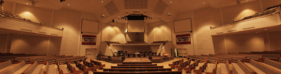 This is what the church looked like before starting anything.