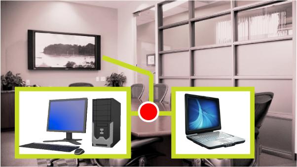 PC與NB如何共享投影機進行簡報