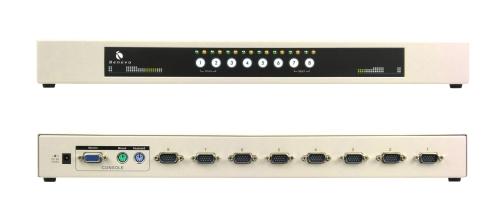 UltraKVM機架型 8埠PS/2 KVM多電腦切換器 (VGA / PS2 / OSD)