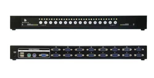 UltraKVM機架型 16埠PS/2 KVM多電腦切換器 (VGA / PS2 / OSD)