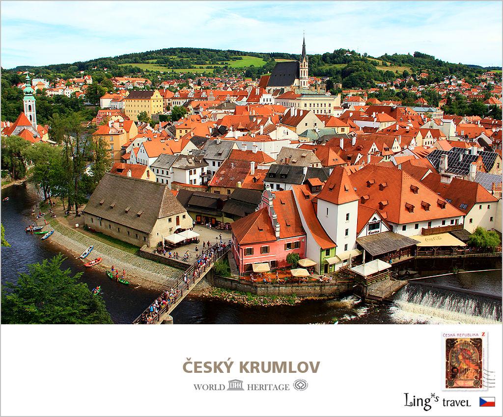 捷克。時空倒轉700年的克魯洛夫、如幻似真的彩繪城堡
