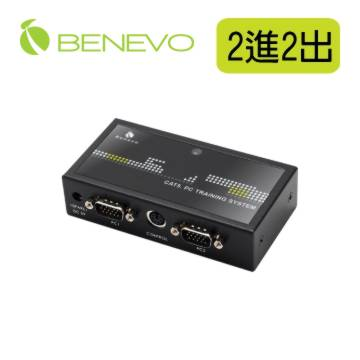 BVAS202: 除了連接電腦輸出到投影機,還可以額外連接一台筆電,可以立即切換進行簡報,讓簡報更有效率