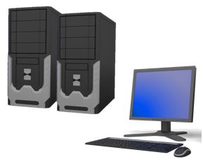 使用一組螢幕控制兩台電腦,可以達到精簡設備、快速切換,提供更舒適的操作環境
