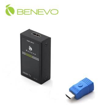 使用網線延伸HDMI,這一款BHE025可以將1080p延伸達15公尺,但需要使用Cat6等級線材