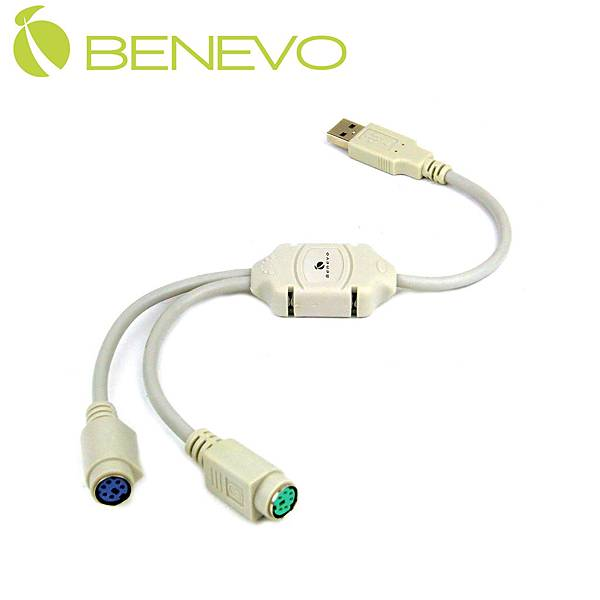 專業型USB轉PS/2訊號轉換器