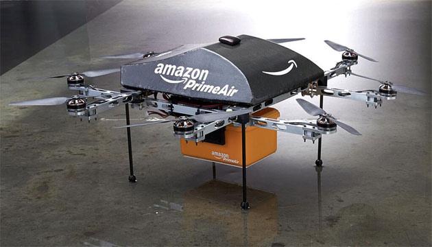 Amazon Prime Air 是部無人運貨直升機,目標半小時內將商品送達你家