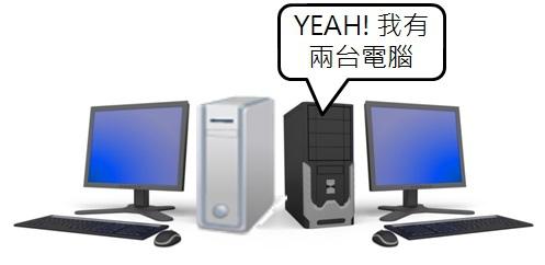 YEAH! 我有了第二台電腦,快叫我專家!!