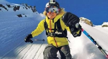 GoPro的滑雪頭盔用攝影機Hero 3+