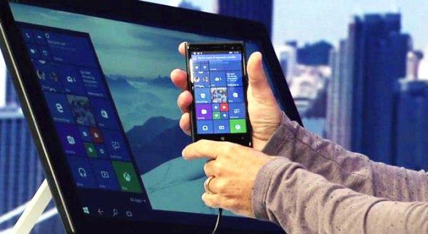 沒想到全球市佔率不過區區3%的Windows手機,突然好像有了逆轉勝的機會,原因是因為它可以最為最輕便的文書用電腦?在微軟最新的開發者大會,對全球公開了這項全新的技術「Continuum」,只要有Wiondows手機和螢幕,就可以馬上變成PC使用!