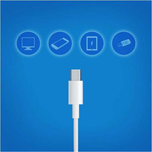 24 位Intel工程師找出了一個新的方法讓USB可以同時傳輸資料、投影、跟充電!這就是USB type C!