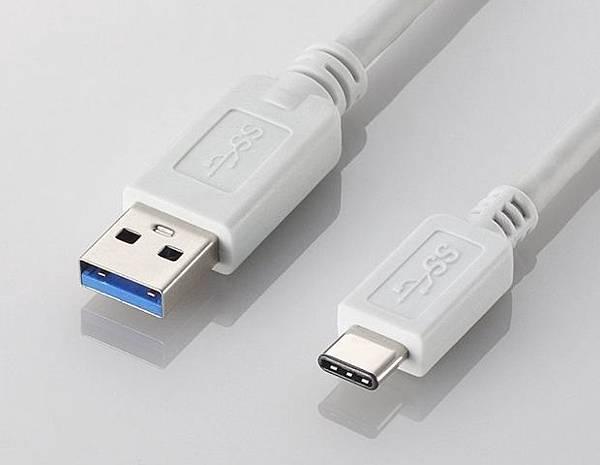 USB-C 接頭上下端完全一致,不再有正面反面差異,這項特性與蘋果 Lightning 介面是相同的便利設計,只是 USB-C 標準設計為內凹的母接頭,蘋果 Lightning 介面則是外凸的公接頭。
