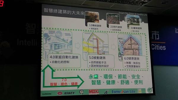 建築7.0智慧、綠色、健康