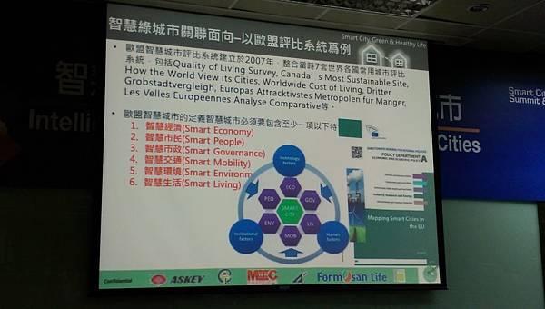 智慧城市關聯面向-以歐盟評比系統為例