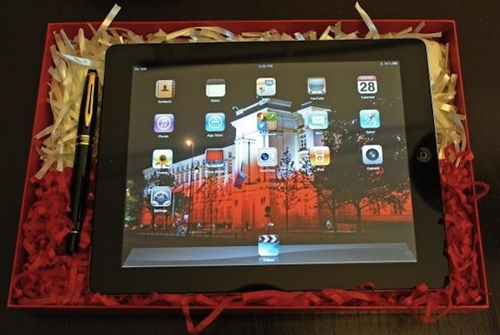 歐巴馬總統的第2台iPad 2