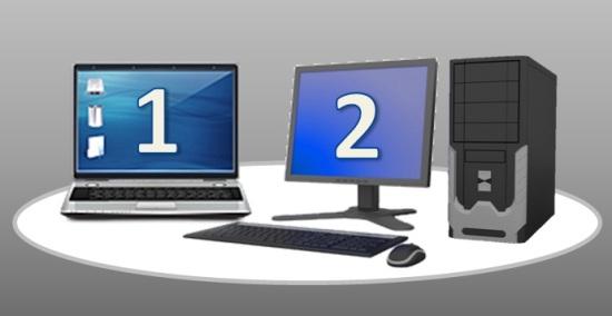 讓您的NB與PC共用VGA螢幕與PS2鍵鼠操作