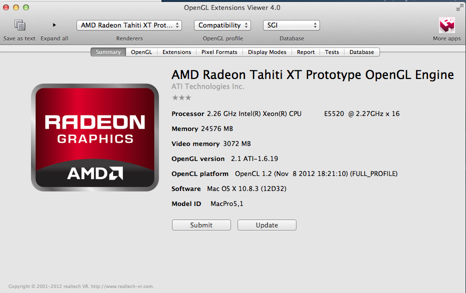 ATI Radeon HD 7xxx On 10.8.3