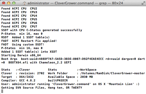 CloverGrower_command