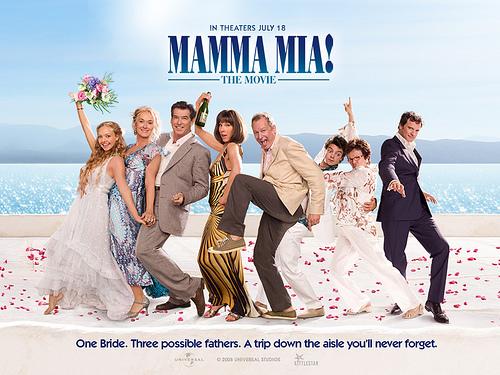 Mama Mia!電影海報(原聲CD封面大同小異)