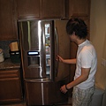 表勾家超大的冰箱~