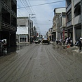 8.8水災賑災at林邊~也看到原來的柏油路...