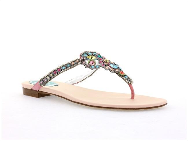 奢華彩色寶石夾腳涼鞋 NT$39,800.jpg