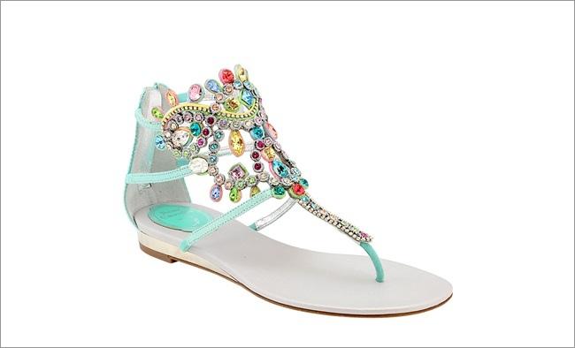 藍色羅馬奢華寶石平底鞋 NT$51,000.jpg.jpg