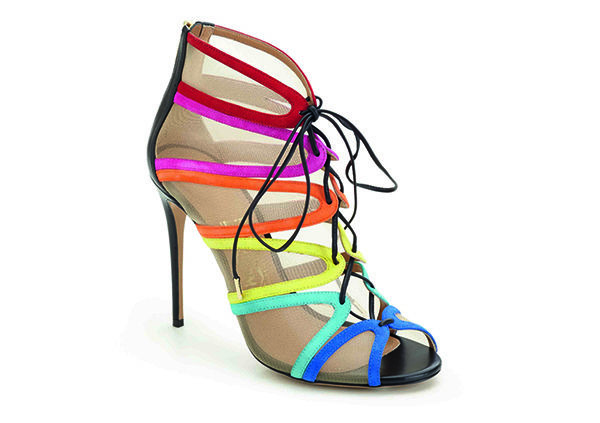 AMBER彩虹麂皮與蕾絲拼接高跟鞋, 建議售價NT34,500.jpg