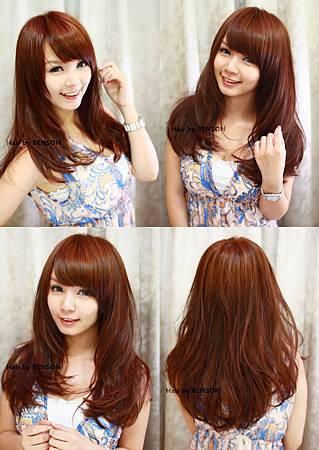 2011今季夏日亮眼蜜糖橘色調@小亞麻豆更顯白皙亮麗魅力.jpg