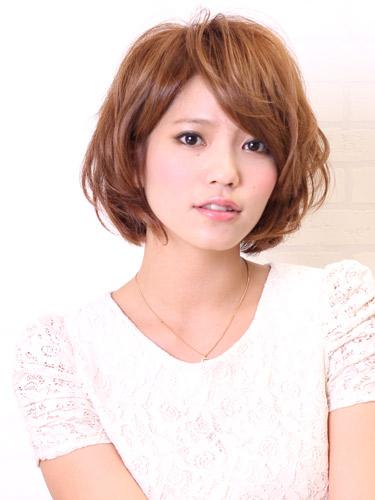 2012年可愛風格鮑伯燙髮設計髮型A-1.jpg