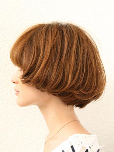 2012年短鮑伯混搭圓線感蓬鬆髮型+蜂蜜米色調A-2.jpg