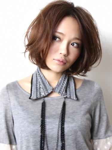 2012年早春流行日雜少女系鮑勃髮型@灰棕髮色A-1.jpg