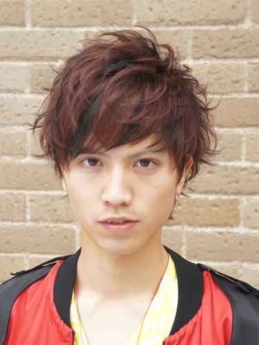 2012年初春型男混搭設計潮流燙染髮型A-1.jpg