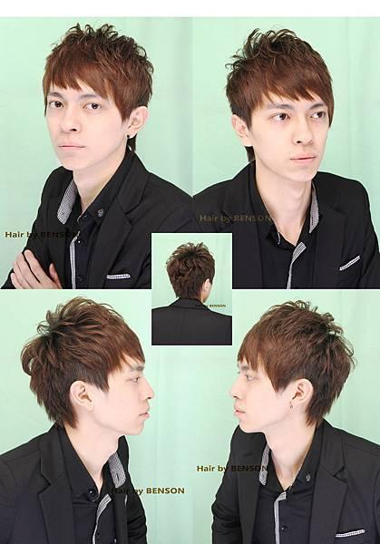 2012年春季十大人氣髮型~韓風型男咸亨~尚洋班森