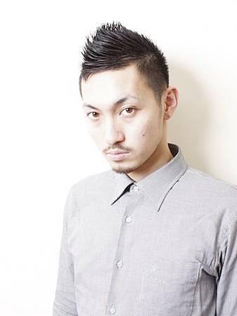 2012年春季個性型男短髮髮型設計A-1