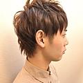2012年春季日系風格線條感設計燙髮髮型A-2