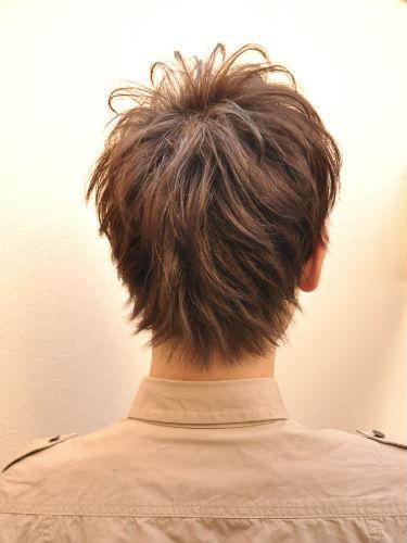 2012年春季日系風格線條感設計燙髮髮型A-3