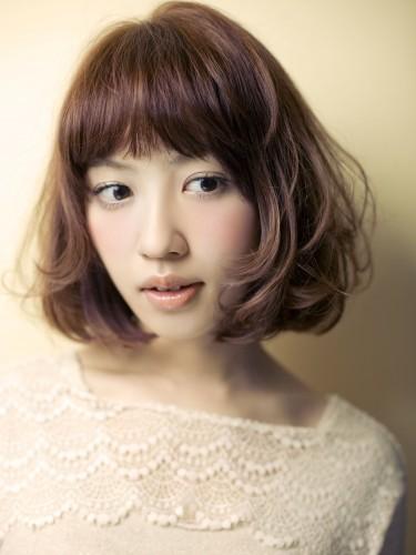 2012年春夏日系潮流感鮑勃蓬鬆髮型設計A-1