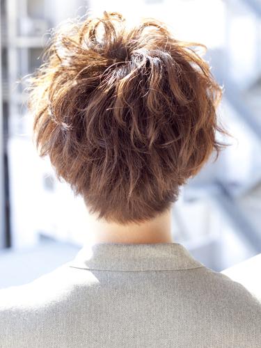 2012年日系潮流捲髮男生髮型搭A-3