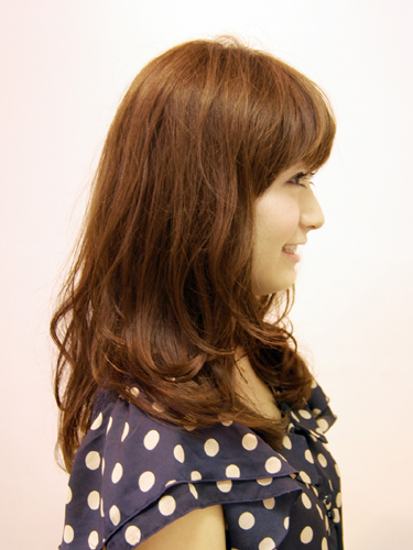 2012年春夏捲曲氣質風格髮型B-2
